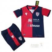 Divise calcio Prima Set Bambino Cagliari Calcio 2019 2020