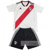 Divise calcio Prima Set Bambino River Plate 2018 2019