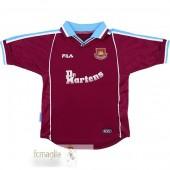 FILA Divise Calcio Prima West Ham United Retro 1999 2000