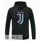 Felpa Cappuccio Juventus 2020 2021 Nero