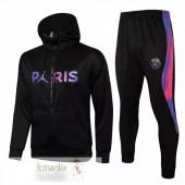 Felpe Giacche Paris Saint Germain 2021 2022 Nero Porpora