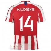 NO.14 M.Llorente Divise Calcio Atletico Madrid 19 20
