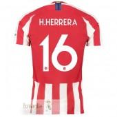 NO.16 H. Herrera Divise Calcio Atletico Madrid 19 20