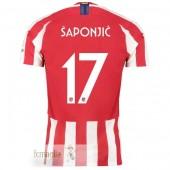 NO.17 Saponjic Divise Calcio Atletico Madrid 19 20