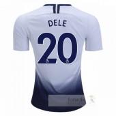 NO.20 Dele Divise calcio Prima Tottenham Hotspur 2018 2019