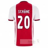 NO.20 Schone Divise calcio Prima Ajax 2019 2020