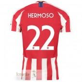 NO.22 Hermoso Divise Calcio Atletico Madrid 19 20