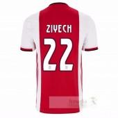 NO.22 Ziyech Divise calcio Prima Ajax 2019 2020