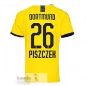 NO.26 Piszczek Divise Calcio Prima Borussia Dortmund 19 20