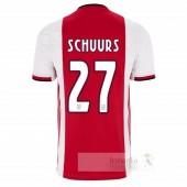 NO.27 Schuurs Divise calcio Prima Ajax 2019 2020