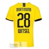 NO.28 Witsel Divise Calcio Prima Borussia Dortmund 19 20