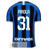NO.31 Pirola Divise Calcio Prima Inter Milan 19 20