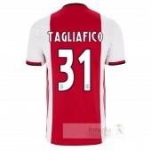 NO.31 Tagliafico Divise calcio Prima Ajax 2019 2020
