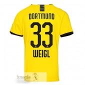 NO.33 Weigl Divise Calcio Prima Borussia Dortmund 19 20