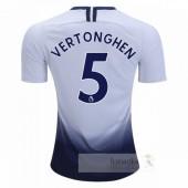 NO.5 Vertonghen Divise calcio Prima Tottenham Hotspur 2018 2019