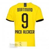 NO.9 Paco Alcacer Divise Calcio Prima Borussia Dortmund 19 20