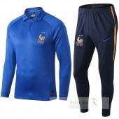 Nike Set Polo Francia 100th Blu