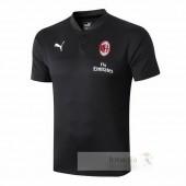Polo AC Milan 2019 2020 Nero