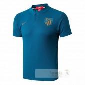 Polo Atletico Madrid 2018 2019 Blu
