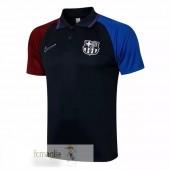 Polo Barcellona 2021 2022 Nero Rosso Blu