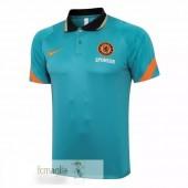 Polo Chelsea 21 22 Verde Arancione