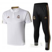 Polo Formazione Set Real Madrid 2019 2020 Nero