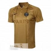 Polo Paris Saint Germain 2021 2022 Giallo