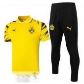 Polo Set Completo Borussia Dortmund 2020 2021 Giallo Nero