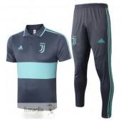 Polo Set Completo Juventus 2020 2021 Grigio Verde