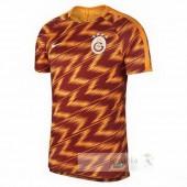 Pre Match Divise calcio Galatasaray SK 2018 2019 Arancione