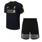Prima Portiere Divise calcio Set Bambino Liverpool 2019 2020