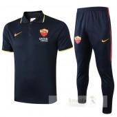 Set Polo AS Roma 2019 2020 Nero