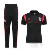 Set Polo Bayern Monaco 2019 2020 Nero