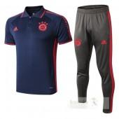 Set Polo Bayern Monaco Blu 2019 2020