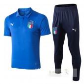 Set Polo Italia 2018 Blu