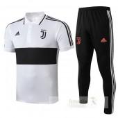 Set Polo Juventus 2019 2020 Bianco