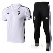 Set Polo Juventus 2019-2020 Bianco