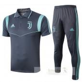Set Polo Juventus 2019 2020 Grigio