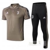 Set Polo Juventus 2019 2020 Marrone