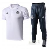 Set Polo Real Madrid 2018 2019 Bianco