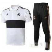 Set Polo Real Madrid 2019 2020 Bianco
