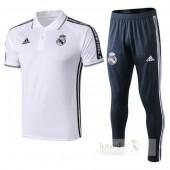 Set Polo Real Madrid 2019-2020 Bianco