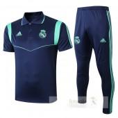 Set Polo Real Madrid 2019 2020 Blu
