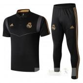 Set Polo Real Madrid 2019 2020 Nero Grigio