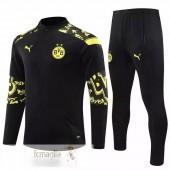 Tuta Borussia Dortmund 2020 2021 II Nero Giallo