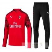 Tuta Calcio AC Milan 2019 2020 Rosso Nero