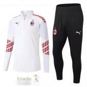 Tuta Calcio AC Milan 2020 2021 Bianco Rosso Blu