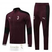 Tuta Calcio AC Milan 2020 2021 Borgogna