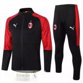 Tuta Calcio AC Milan 2020 2021 Rosso Nero