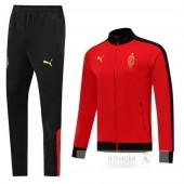 Tuta Calcio AC Milan Rosso Nero 2019 2020